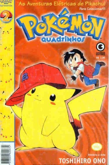 Pokémon Em Quadrinhos 2 * Ed. Conrad