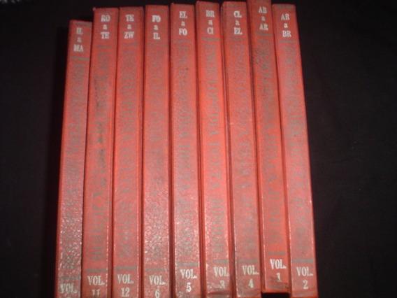 Enciclopédia Delta Junior - 9 Volumes -1963 -melhor Preço Ml