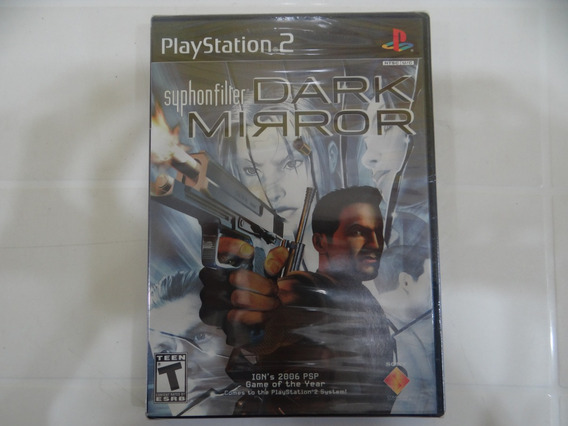 Syphonfilter Dark Mirror - Ps2 - Lacrado!