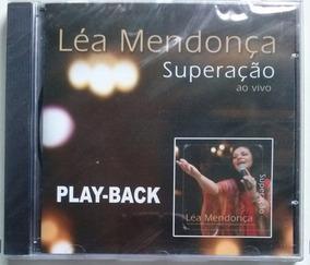 Cd Léa Mendonça - Superação - Playback - Frete Grátis
