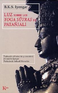 Luz Sobre Los Yoga Sutras De Patanjali Iyengar - Libro Envio