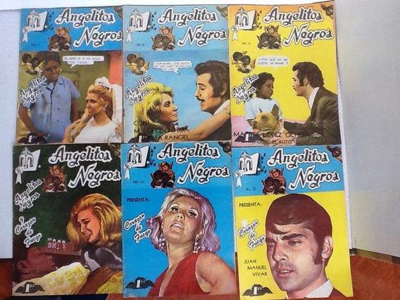 Fotonovela Angelitos Negros Ed. Rodriguez Años 70s Varios #