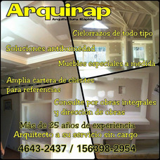 Colocacion Durlock Arquirap Calidad Y Precio! 4643-2437