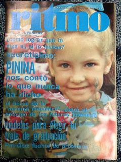 Revista Ritmo Pinina Nº481 Nov 74 Camilo Sesto Bau Bañados