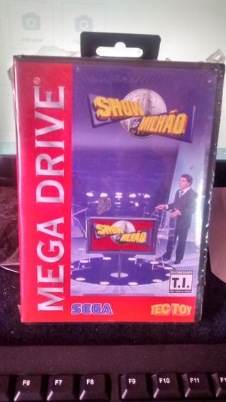 Show Do Milhão P/ Mega Drive - Original