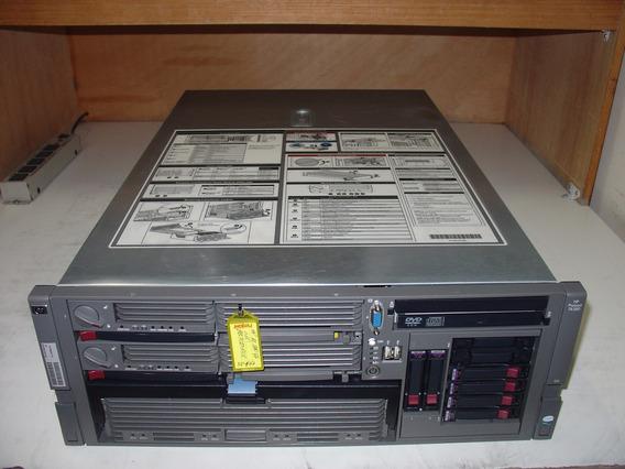 Hp Proliant Dl580 G4 04 Proc Quadcore 3,4ghz 20gb Mem Nc194