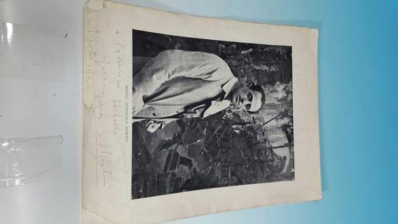 Antiguo Catalogo Firmado Y Dedicado Por Quinquela Martin