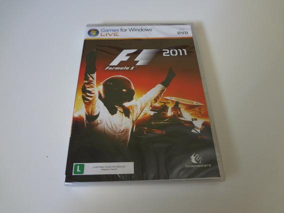 Formula 1 2011 Novo E Lacrado Para Pc !