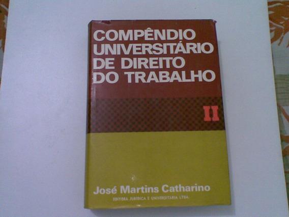 Livro Compendio Universitario De Direito Do Trabalhador
