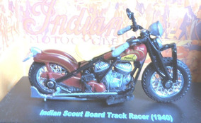 Indian Scout Board Track Racer 1940 - 1:32 New Ray