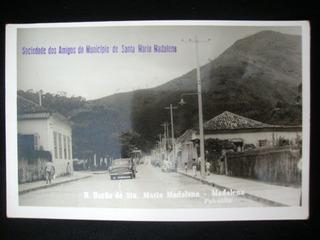 Cartão Postal Santa Maria Madalena Rio De Janeiro