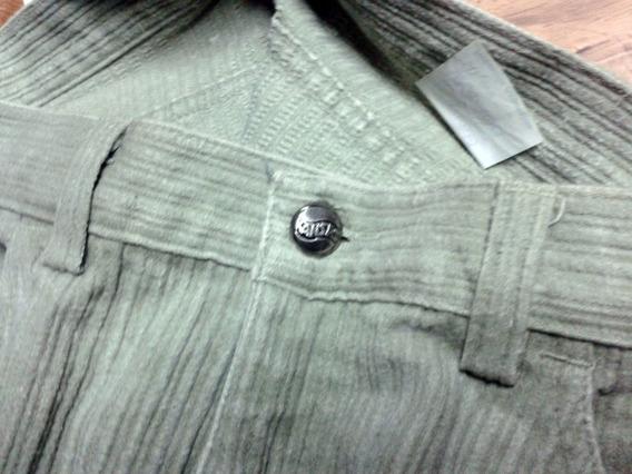 Pantalón De Corderoy Kansas 100% Algodón Talle 38