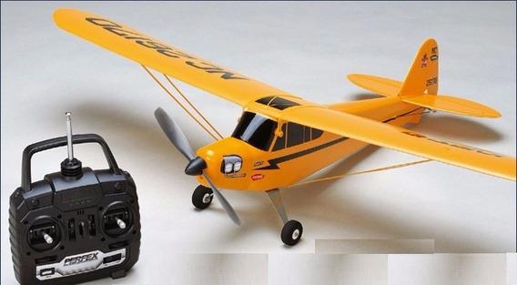 Avião Elétrico Kyosho Piper J3 Cub M24 40mhz