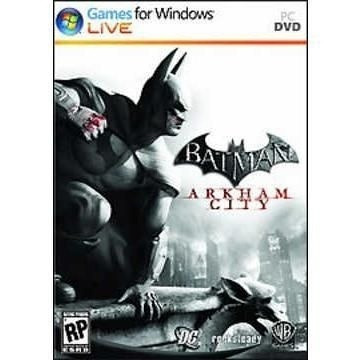 Batman Arkham City Pc - Novo - Original - Mídia Física