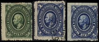 0715 Hidalgo Ovalo Verde 1° E 50c $1 2pesos Usados 1884
