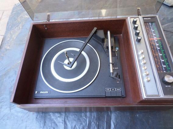 Toca Disco Radio Philips - Modelo 895 Antiga