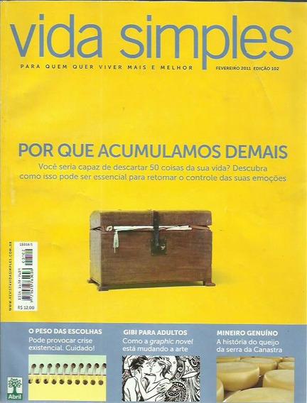 Revista Vida Simples Ed. 102