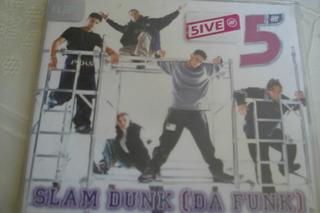 Cd Single 5ive Slam Dunk (da Funk)