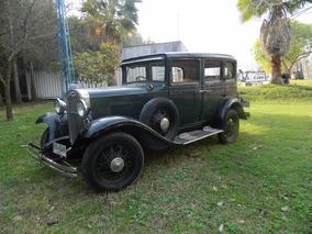 Chevrolet Sedan Año1931 Excelente Estado!!! Papeles Al Día