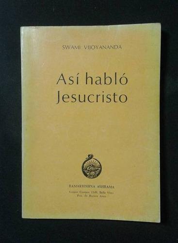 Asi Hablo Jesucristo Swami Vijoyananda