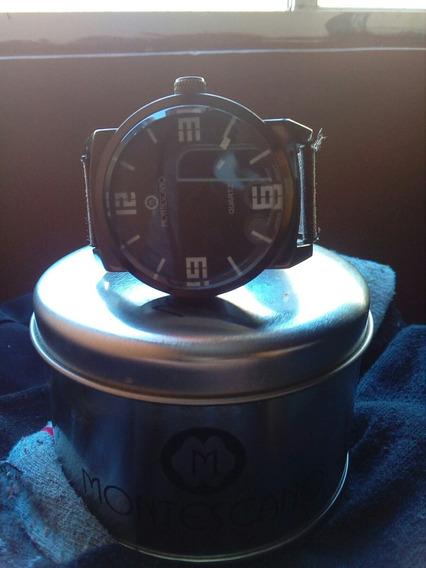 Reloj Montescano Análogo Cafe/negro