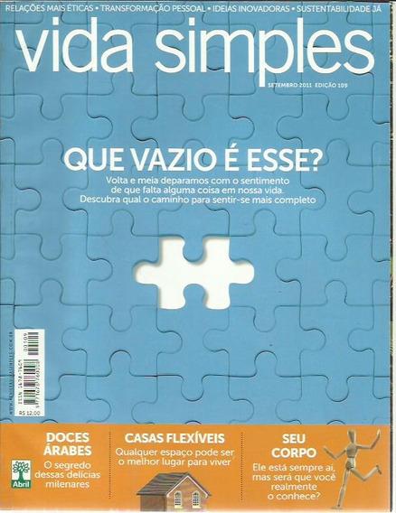 Revista Vida Simples Ed. 109
