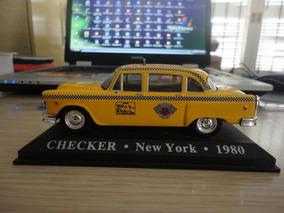 Linda Miniatura Checker - New York - 1980 - Vejam A Foto !!!
