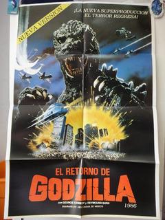 Poster Gojira Godzilla The Legend Is Reborn Raymond Burr