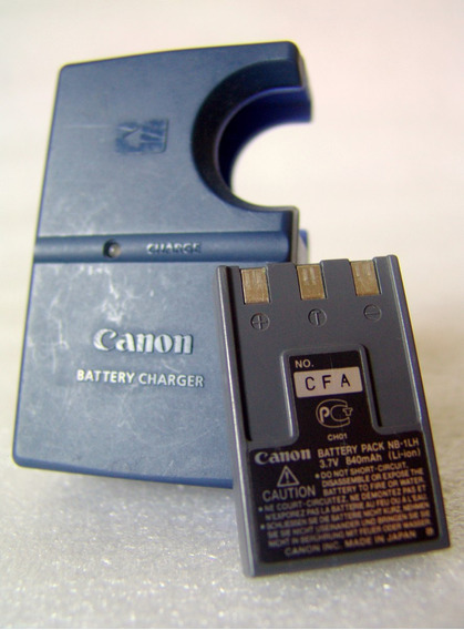 Carregador Canon Cb-2ls Para Bateria Nb-1lh