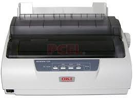 Impressora Okidata Microline 1120 Com Um Trator Quebrado