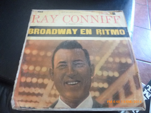 Vinilo Lp  De Ray Conniff - Broadway En Ritmo (u732