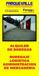 Alquiler De Bodegas Industriales Y Servicios Logisticos