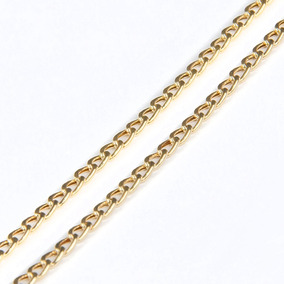 Corrente Em Ouro 18k Groumet 50cm