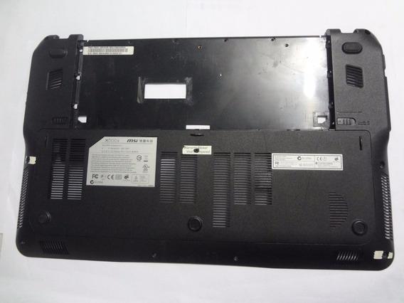 Carcaça Inferior Chassi P/ Notebook Msi X600