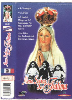 Vhs Nossa Senhora De Fatima/original /perf Estado