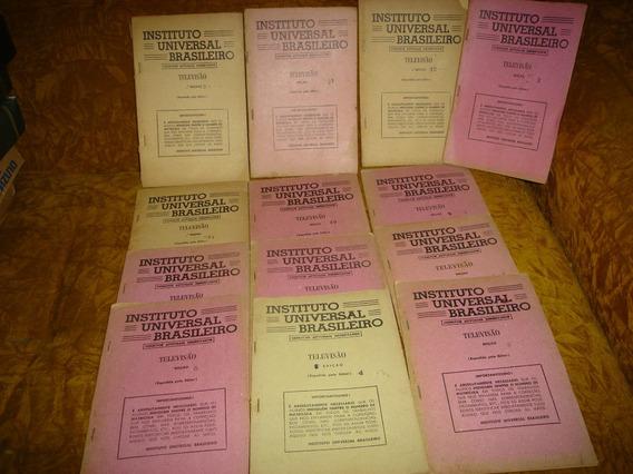13 Livros Antigos Televisão Raridade:lote Por R$ 195,00