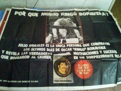 Afiche De Ringo  Bonavena Del Libro De J. Morales