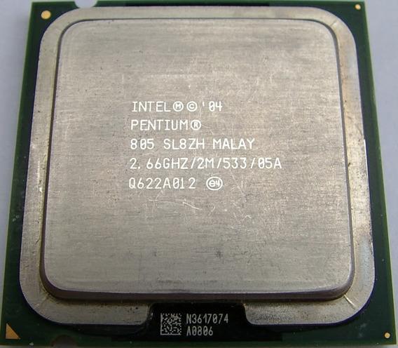 Processador Intel Pentium D 805 2.66 / 2m / 533 P/n Sl8zh