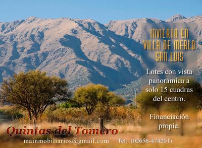 Lotes En Villa De Merlo, San Luis