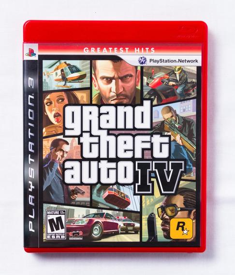 Grand Theft Auto Gta Iv - Em Estado De Novo