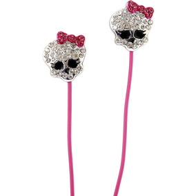Earbuds Monster High Para iPod Ou iPhone Em 2 Modelos