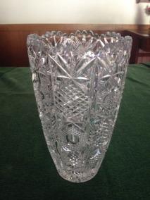 Vaso/jarra Cristal Lpid/tcheca Antigo Perfeito