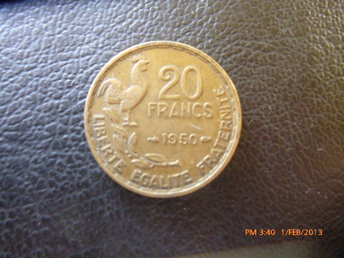 Moneda Francia 20 Francos 1950 (223z