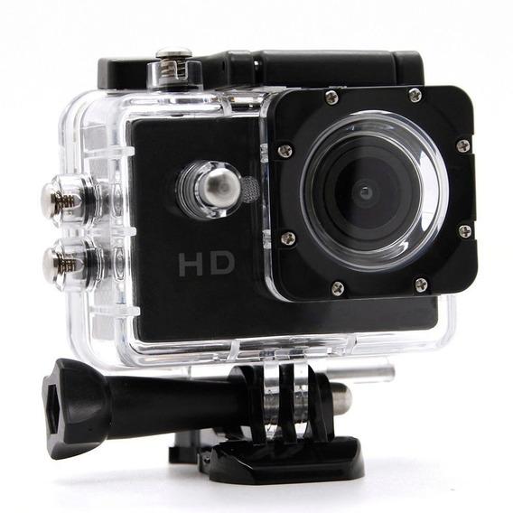 Mini Câmera E Filmadora Suporte Moto Bike 1080p Prova D