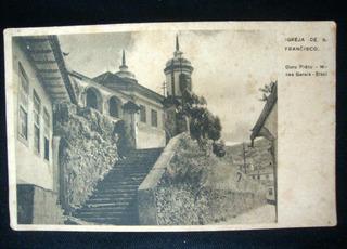 Postal Cartão Antigo Santa Maria Madalena Rio De Janeiro