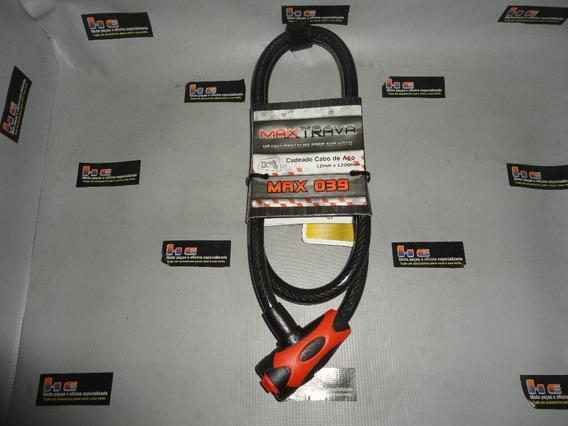 Trava Corrente 12mm/120mm Moto Bike Step Carro Cg/bros/cb300