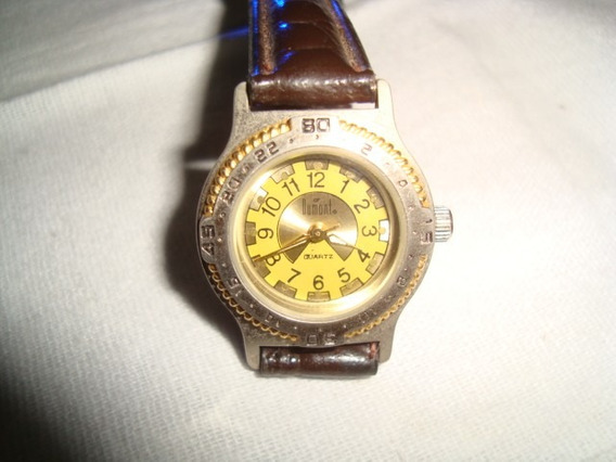 Classico Relógio Dumont Feminino Arte Som