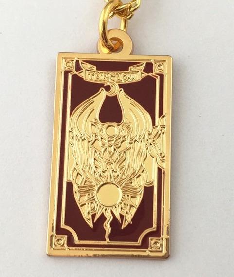 Colar Frente Clow Book Sakura Card Captor Cardcaptor Raro