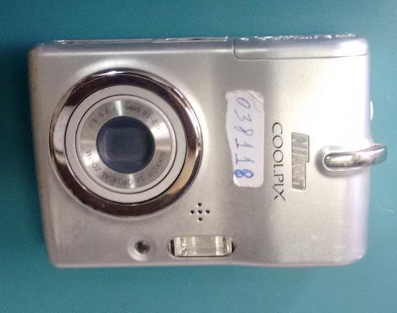 Câmera Digital Nikon Coolpix (com Defeito)