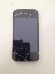 iPhone 4s Com Tela Quebrada